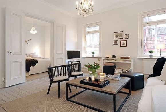 Inspiration vardagsrum isabellefanny Color schemes for apartments